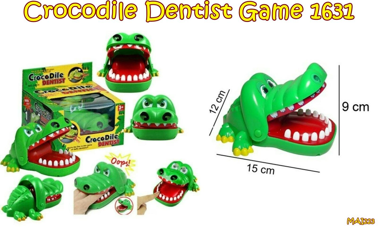 Mai223 Mainan Crocodile Dentist Game 1631 Gigit Buaya Liana Product Search